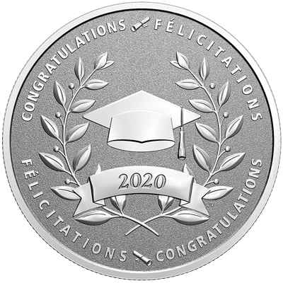 A picture of a ½ oz Congratulations on Graduating in 2020