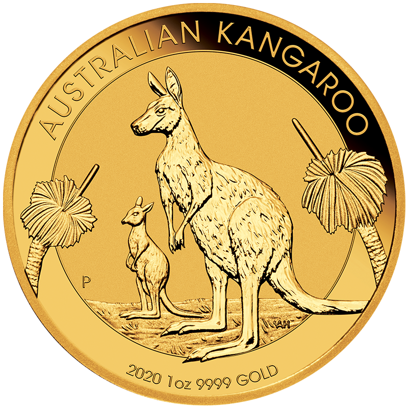 Image for 1 oz Gold Australian Kangaroo (2020) from TD Precious Metals