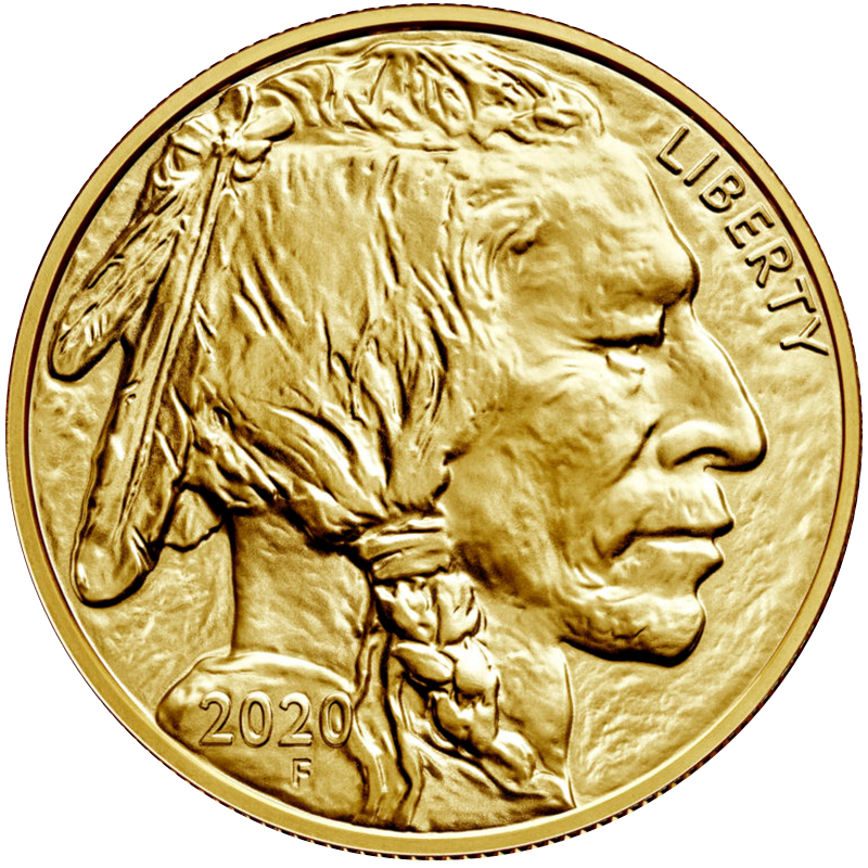 Image for 1 oz. Gold United States Buffalo (2020) from TD Precious Metals