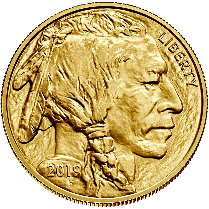 Image for 1 oz. Gold United States Buffalo (2019) from TD Precious Metals
