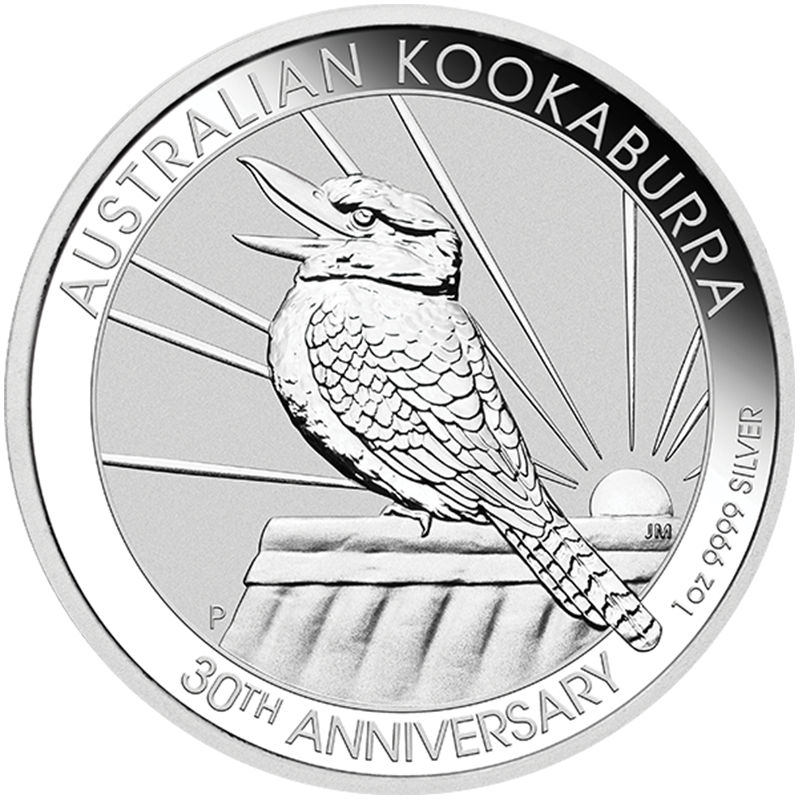 Image for 30th Anniversary 1 oz Silver Kookaburra (2020) from TD Precious Metals