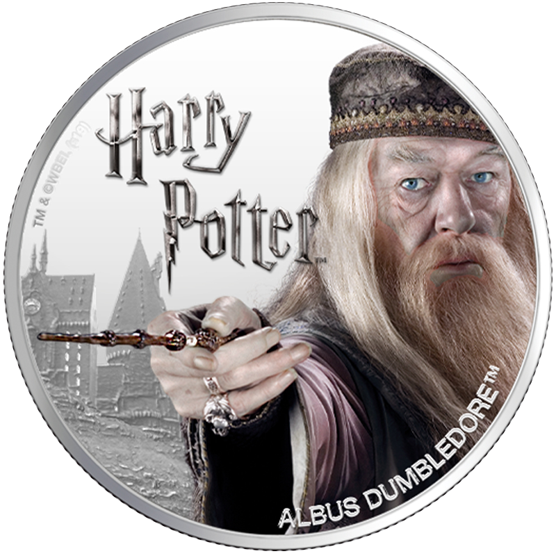Image for 1 oz Silver Albus Dumbledore (2020) from TD Precious Metals