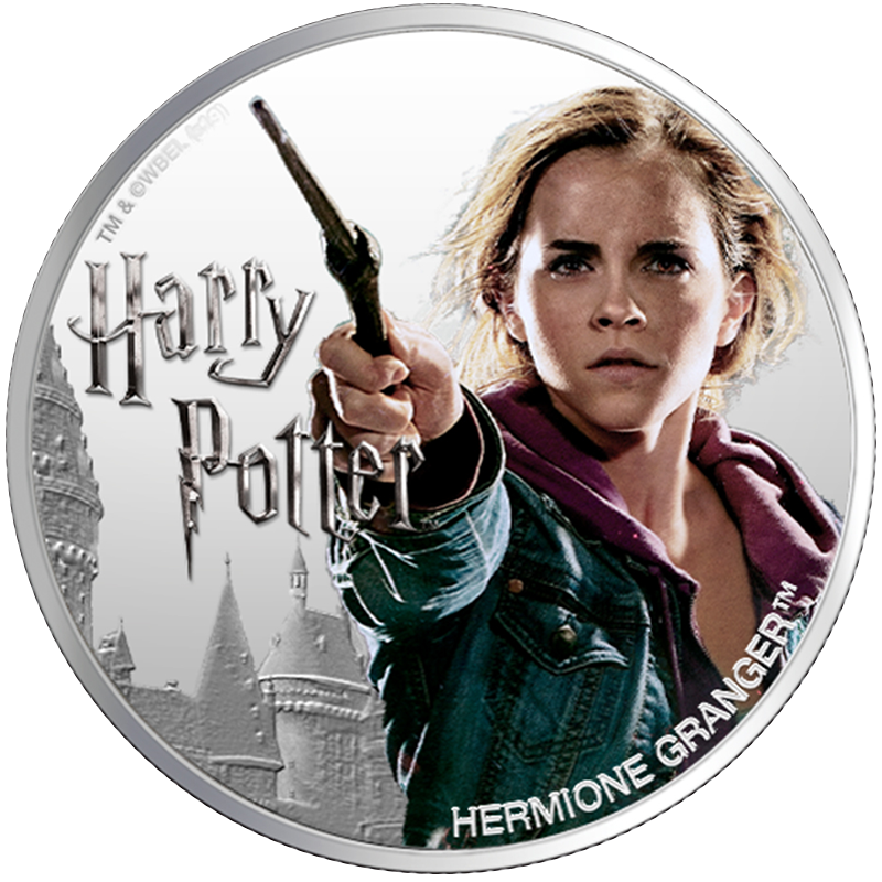 Image for 1 oz Silver Hermione Granger Coin (2020) from TD Precious Metals