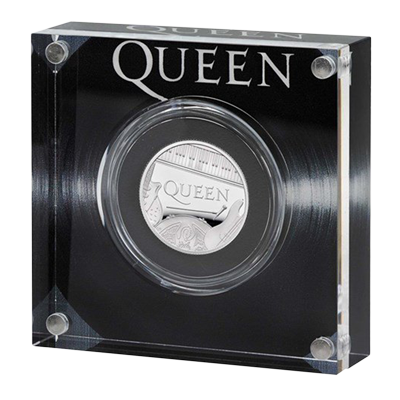 A picture of a Queen 1/2 oz Silver Proof Coin (2020) (Exclusive Packaging)