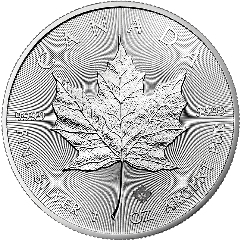 Image for 1 oz. Silver Maple Leaf Coin (2020) from TD Precious Metals