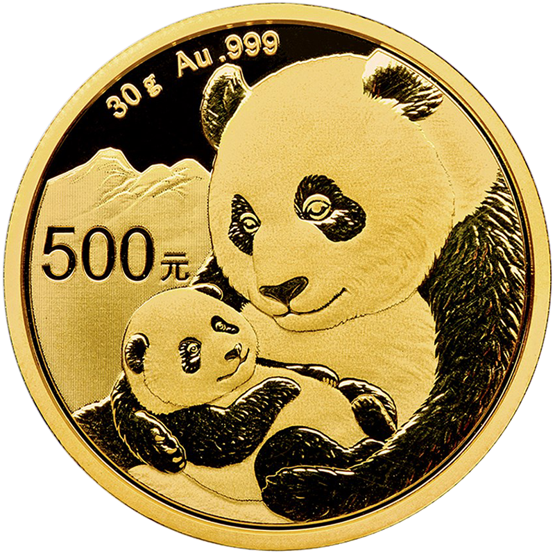 Image for 30 gram Gold Chinese Panda (2019) from TD Precious Metals