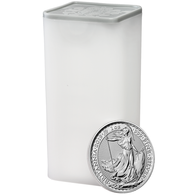 Image for 1 oz. Silver Britannia Tube from TD Precious Metals