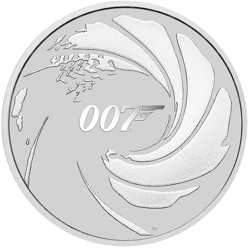 Image for 1 oz James Bond 007 Silver Coin from TD Precious Metals