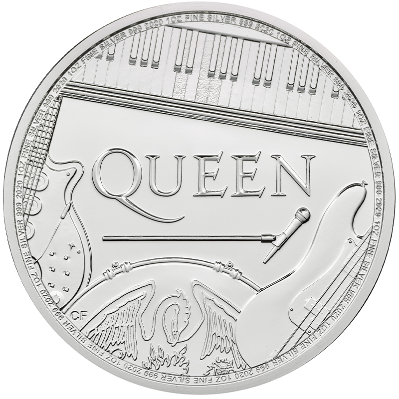 Image for Queen 1 oz Silver Coin (2020) from TD Precious Metals