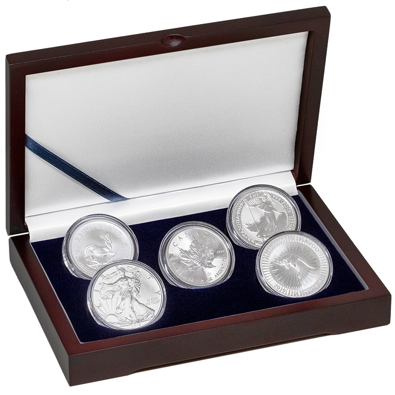 Image for 2019 Sovereign 1 oz Silver Coin Set from TD Precious Metals