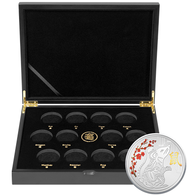 A picture of a TD Silver Lunar Series Collector's Bundle