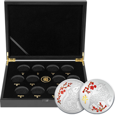 A picture of a TD Silver Lunar Series Collector's Bundle (2021)