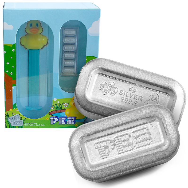 Buy the PEZ Silver Wafer Gift Set